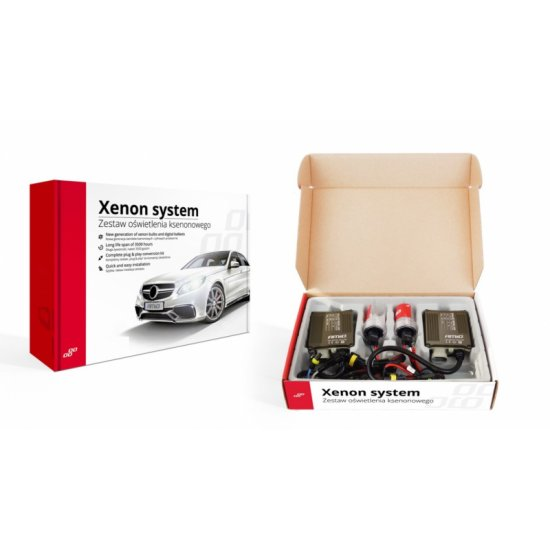 Xenon kit Can-Bus slim 12V H8