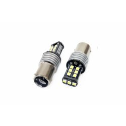 LED žarnica BAY15d 1157 15SMD can-bus