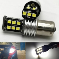 LED žarnica BA15S 1156 21SMD 2835 can-bus