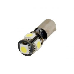 LED žarnica BAX9S (H6W) 5SMD can-bus